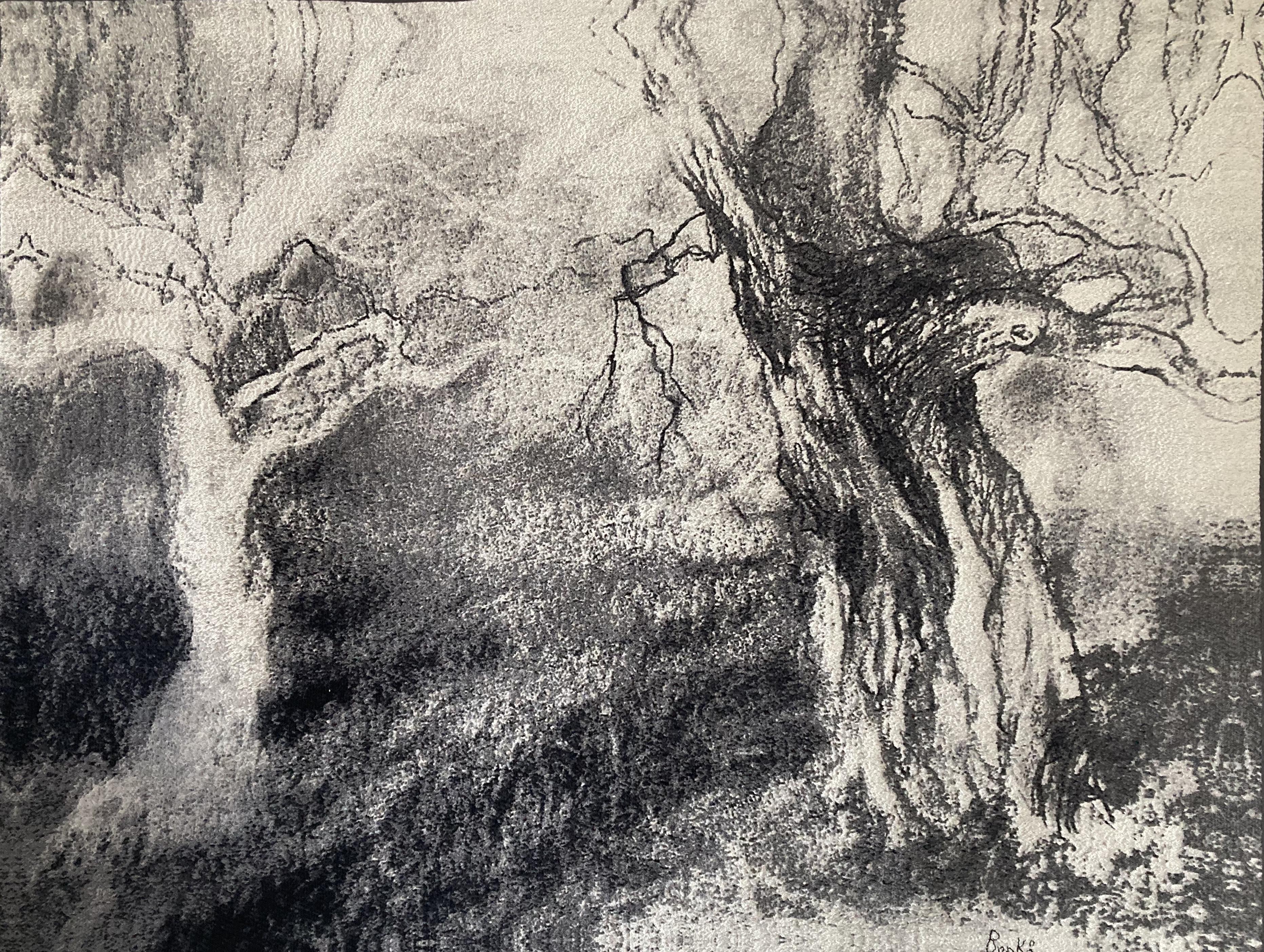 'Dialoog' weefkleed van zuiver zijde 114x146 cm