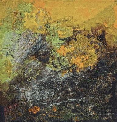 Landschap weefkleed 200 x200 cm