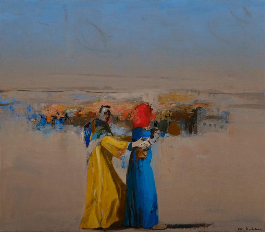 Fata Morgana, olieverfschilderij 70 x 80 cm