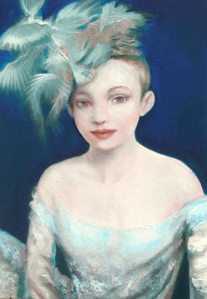 First Time, schilderij 100x70 cm, verkocht