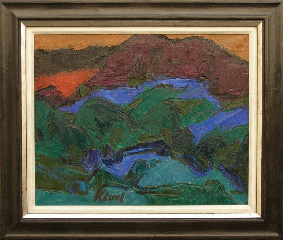 Landschaft, 60x80 cm, verkocht