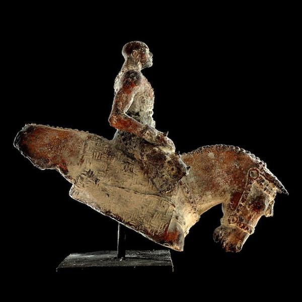Warrior, brons 62x48 cm