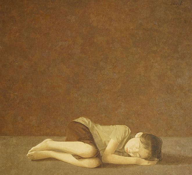 Daglicht II, olieverf op doek, 100 x 110 cm