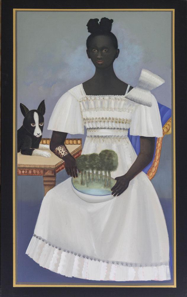 Dew Dew Gliangcourt, schilderij 160x100 cm, verkocht