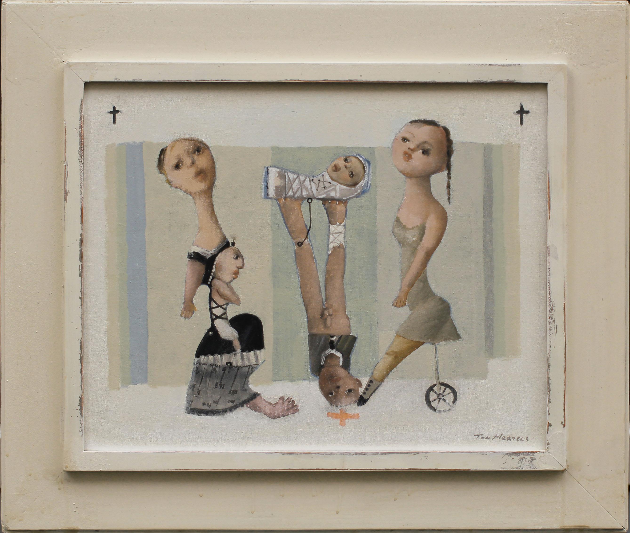 Little Nurse, schilderij 40x50 cm, verkocht