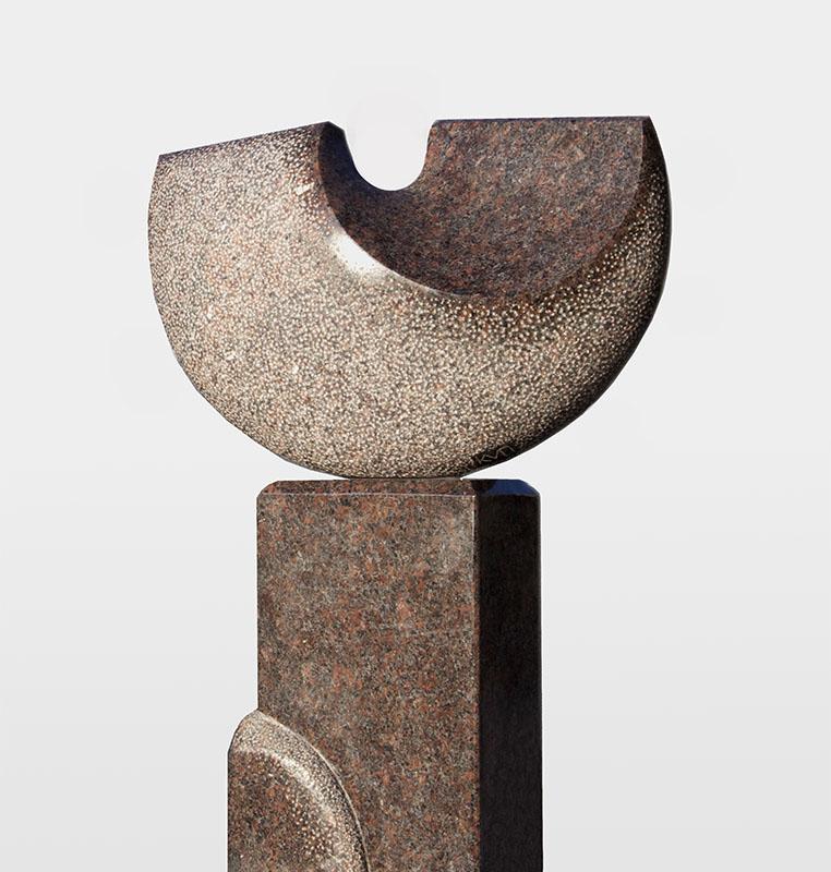 Maan, Dakota graniet, 70x54x22 cm, verkocht