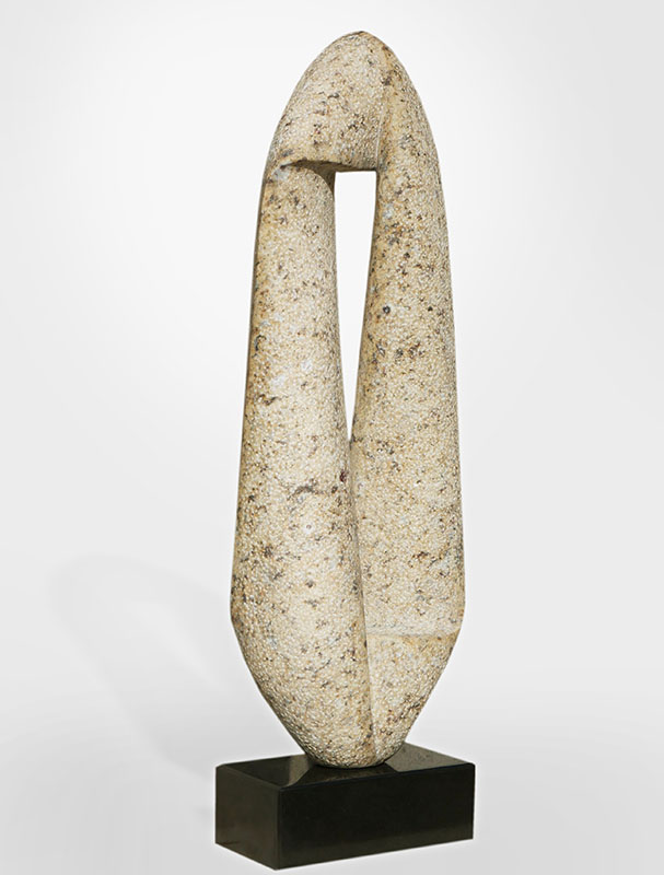 De Rechthoek, graniet 67x20x11 cm, verkocht