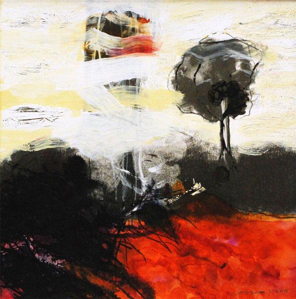 schilderij 26x26 cm