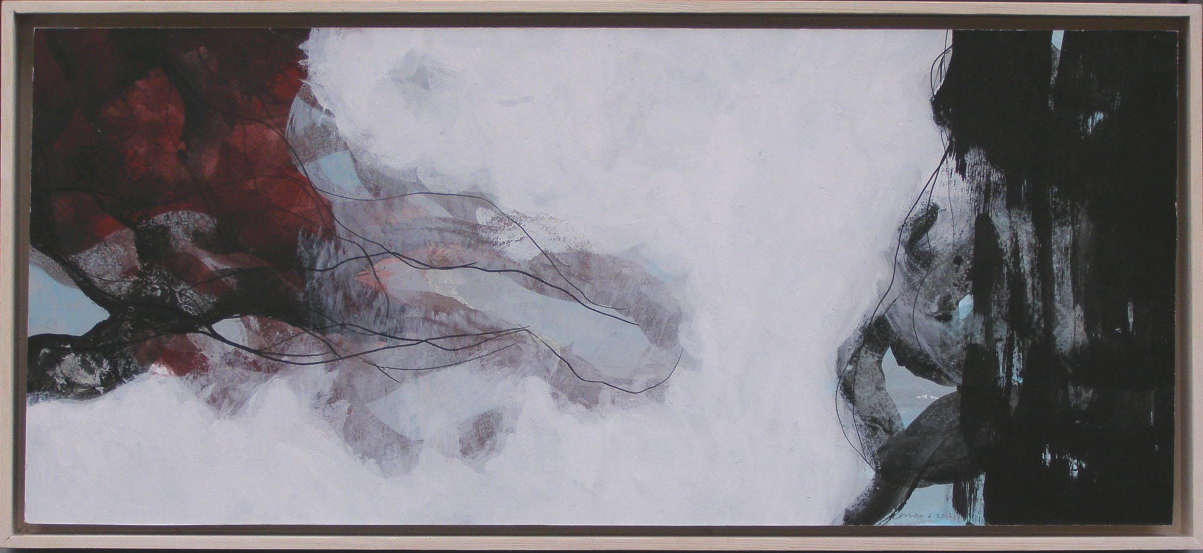 schilderij 31x62cm