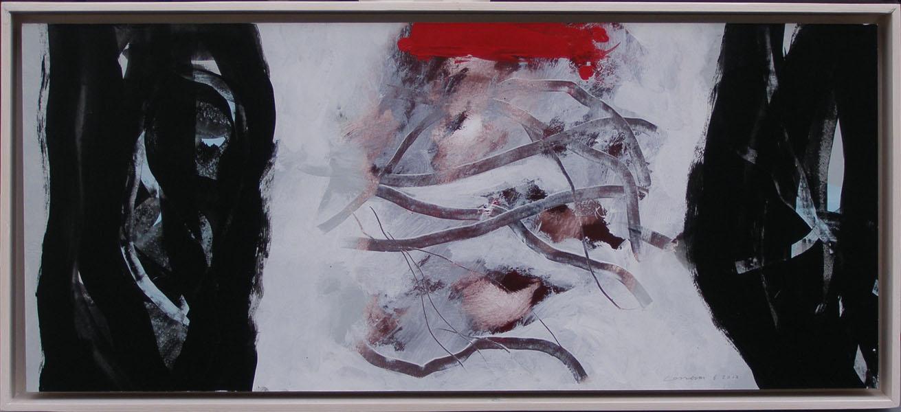 schilderij 31x62 cm